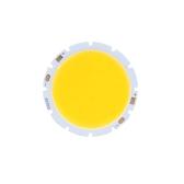10W rotondo COB Chip LED Super brillante lampada lampadina caldo bianco DC32-34V