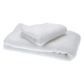 Ensemble de serviettes de bain 2pcs Simple doux pur coton blanc séchage serviette gant de toilette pour Accueil Hotel