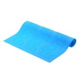 38.5 * 28.5 cm Silicone azul Fondant belo padrão de cozimento molde DIY bolo decoração cozinha ferramenta de decoração de bolos