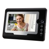 "Second Hand 7"" TFT Color LCD Display Video Door Phone Visual Intercom Doorbell Hands Free IR Night Vision"