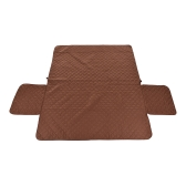 Crafted Pet Sofa Furniture Protector Slipcover 3-seat Water Protecting Box Quilted Against Pets Tearing Biting Protect Sofa Away from Stains Spills 277 * 190cm / 110 * 75in