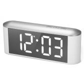 Horloge miroir à DEL à commande tactile numérique