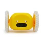 Innovative Alarm Clock with 2 Running Wheels
