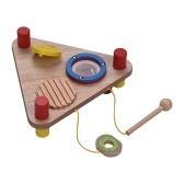 Jouet de percussion en bois multifonctionnel