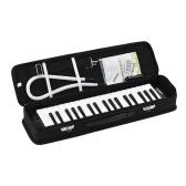 ammoon 37 Keys Melodica Pianicaピアノスタイルキーボードハーモニカ口オルガン