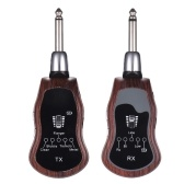 Rechargeable UHF Wireless System Transmitter + Receiver 10 Channels