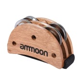 Ammole Elliptical Cajon Box Drum Companion Accessoire Foot Jingle Tambourine
