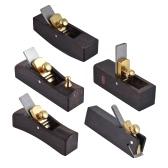 Cortador del Plano de la Carpintería Set de Herramientas Luthier de Ébano para Violín Viola Instrumento de Madera