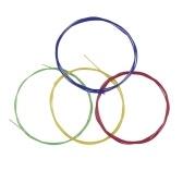 ブラックウクレレUkelele Uke Stringsナイロン素材、4本セット