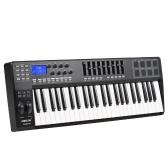 秒針PANDA49 49キーUSB MIDIキーボードコントローラ8ドラムパッド(USBケーブル付)