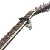 アコースティックエレクトリックギター用ネジ付きギターカーポメタルウクレレユニバーサル