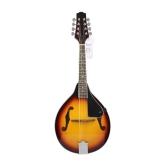 8-String Tilo Sunburst Mandolina Instrumento Musical con el Puente de Rosewood Ajustable