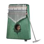 17キーKalimba Portable Thumb Piano