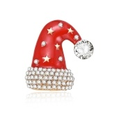 Fashionable Cute Festival Alloy Breastpin Lovely Unique Decorative Brooch Delicate Christmas Halloween Ornament Gift