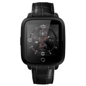 """Second Hand Luxury 3G Smart Watch Phone RAM 1G + ROM 8G Android 5.1 OS Nano SIM Card 1.54"""" LCD Screen Camera 1.3GHz Quad Core CPU Wifi BT4.0 GPS Pedometer Heart Rate Smartwatch for Android 4.3 & iPhone IOS 7.0"""