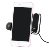 Multi BT Car Kit Phone Holder Handfree Llamando Transmisor FM con Cargador USB