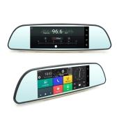 JUNSUN E515 Multifunzione Wifi auto guida registratore portatile Auto DVR Dual Len Telecamera retrovisiva