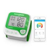 كوجيك الذكية المعصم مراقبة ضغط الدم مع كشف معدل ضربات القلب وظيفة الذاكرة التلقائي بالكامل للاستخدام المنزلي