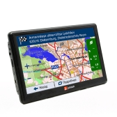 Multifuncional Car Multi-media Player Navegação GPS com mapas gratuitos da América do Norte