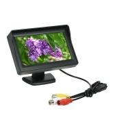"4.3 ""coche TFT LCD Monitor Backup Reverse Camera transmisor receptor inalámbrico"