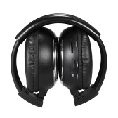 Infrared Stereo Wireless Headphones Dual Channel Over-ear Headsets Wireless IR Earphone for Car DVD Player