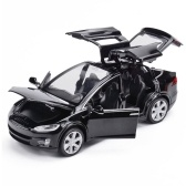 Automodello in miniatura 1:32 in lega per modello di giocattolo Tesla