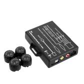 STEELMATE TP-05E bricolaje TPMS para la en-rociada A presión de V Monitor Sensor externo Frjuedas del auto monitoreo sistema salida de vídeo A V monitor de GPS