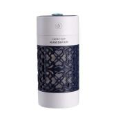 Humidificador de aire de talla hueca SQT-J01 250 ml 3 en 1 para automóvil / hogar / oficina