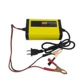 Chargeur de batterie de moto entièrement automatique 12V 2A