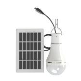 Lampe à énergie solaire DC5-6V 9W 25 LED