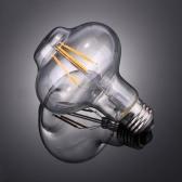 4W G80ランタン形LEDフィラメント電球AC220-240V E27ベースヴィンテージレトロホリデーフェスティバルデコレーションウォームホワイト