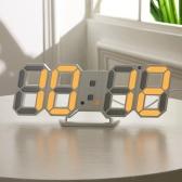 عملي رقمي ليد ساعة منبه طاولة يلة جدار ساعة
