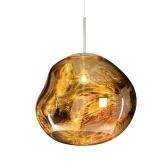 Plafonnier en verre créatif personnalité lustre couloir