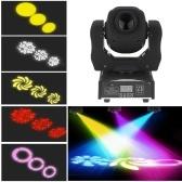 60W LED 8ゴボス8色ステージエフェクトライト(JPプラグ)