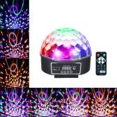 Lumière d'étape de boule magique d'AC85-240V 18W 9 LEDs RGBW avec à télécommande