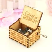 Music Box in legno a tema vintage