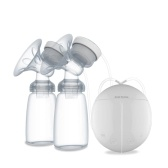 Bomba de lactancia eléctrica doble baja en decibelios para la lactancia materna Bomba de lactancia materna en la leche materna