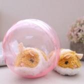 Brinquedo animal enchido esperto elétrico do luxuoso do hamster running