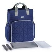 Bolsas de pañales de gran capacidad a prueba de agua de la mochila del bolso del pañal
