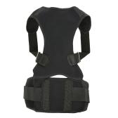 Posture Corrector Back Brace pour les hommes et les femmes Support réglable de clavicule pour améliorer le soutien lombaire de soulagement de la douleur de posture