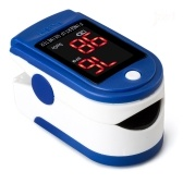 Finger Pulse Oxygen Saturation Monitor Blood Oximeter