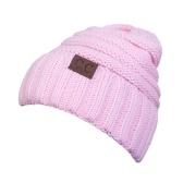 Chapeau tricoté unisexe hiver chaud Chunky