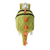 Bolsos de escuela para niños Nylon Cute Dinosaur Travel Mochila Niños Kindergarten Schoolbags Verde