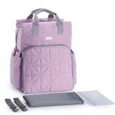 Сумка-рюкзак для пеленки Многофункциональные водонепроницаемые сумки большой емкости