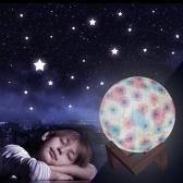 Lampe LED Moon Light 3D colorée rechargeable avec support