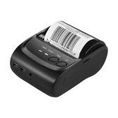 POS-5802LN Portale Mini 58mm 1 a 8 BT USB Impresora Térmica Recibo Bill Ticket POS Printing