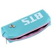 Lovely BTS Stationery Bag Sac de rangement pour crayons pour étudiants