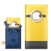 MEIZU Minions M20 Power Bank 10000mAh 24W Flash Carica rapida Batteria esterna per iPhone X iPhone 8 Samsung Galaxy S8 Note 8