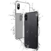 Custodia protettiva per telefono TPU per iPhone X Cover 5.8 pollici Eco-friendly elegante portatile anti-graffio anti-polvere durevole