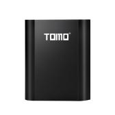 TOMO M4バッテリーチャージャー4 * 18650パワーバンク外付けUSB充電器(iPhone X用インテリジェントLCDディスプレイ付き)Samsung S8 Note 8
